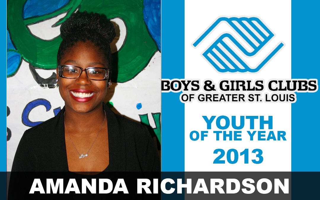 Youth of the Year 2013, Amanda Richardson