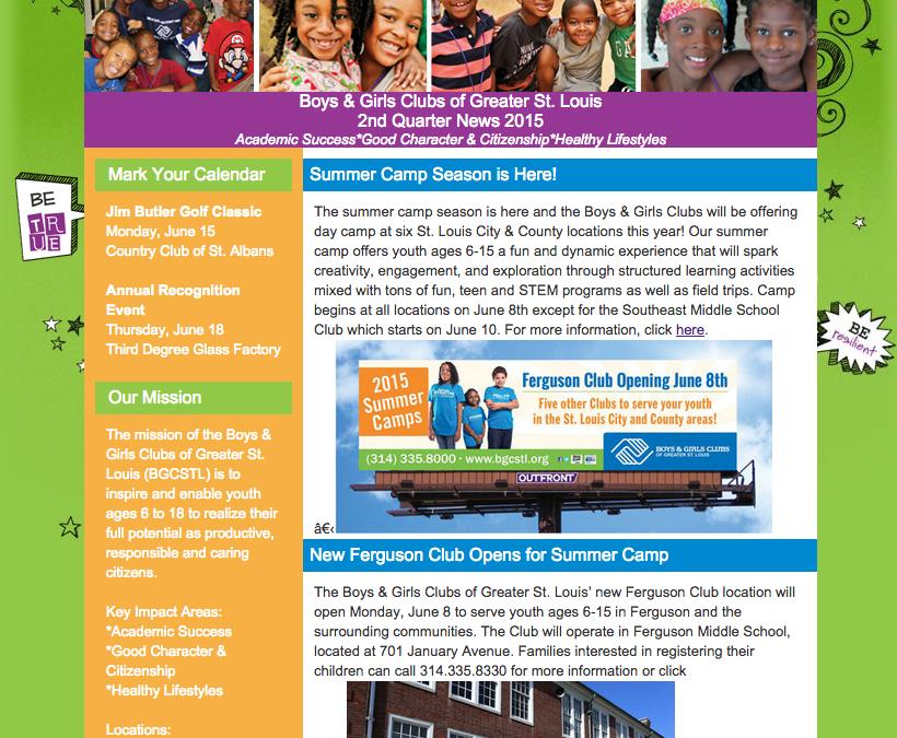2nd Quarter Newsletter 2015