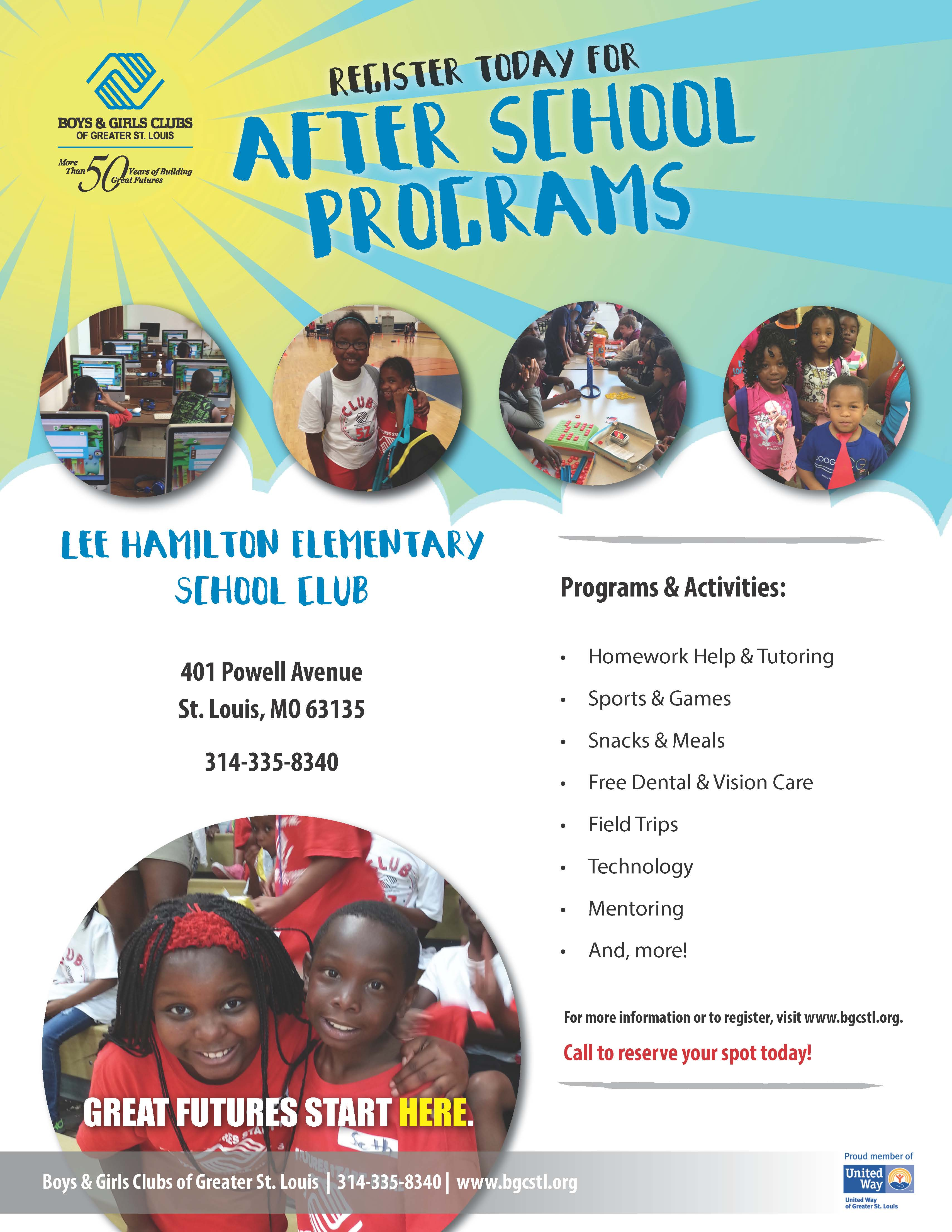After School Programs Boys Girls Clubs