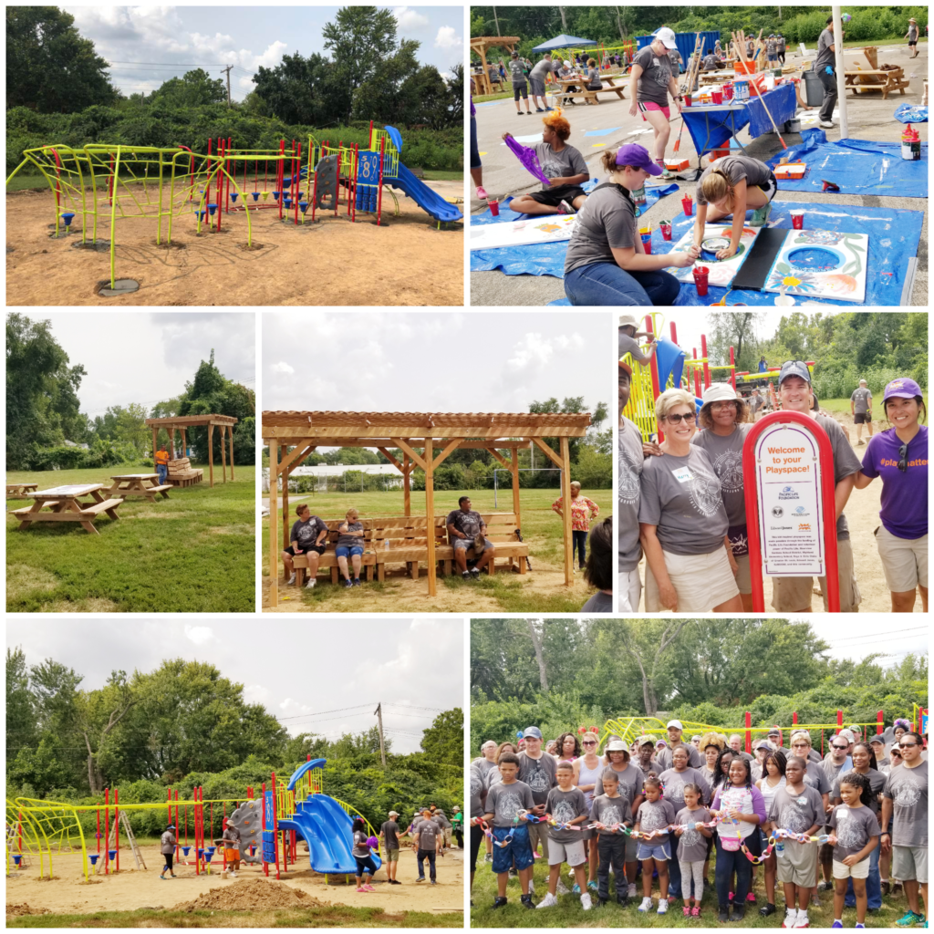 New Playground at Riverview Gardens Club | Boys & Girls Clubs